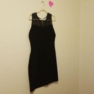 NWOT Calvin Klein black stretch sheet top